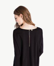 Vestido bicolor Negro Mujer PS828S-04