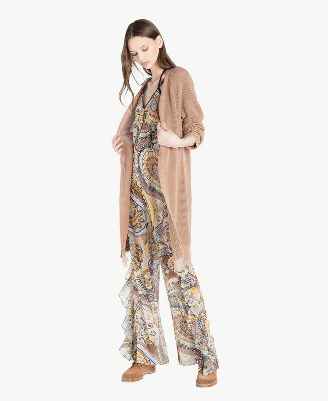 Printed jumpsuit Paisley Print Woman SS82MF-05