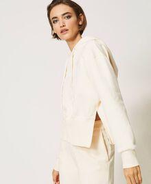 Sudadera con capucha Blanco Nata Mujer 202MP2161-03