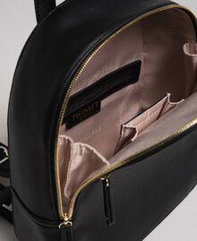 Рюкзак из искусственной кожи с логотипом Черный Pебенок 999GJ7017-04