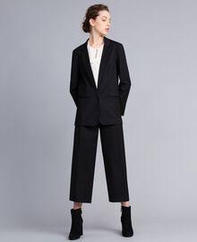 Veste en laine froide Noir Femme PA823R-0T