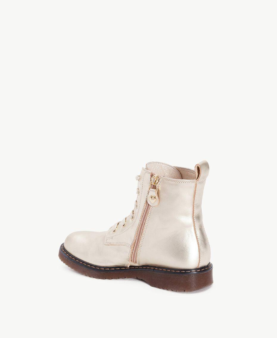 Boots lamé Or Jaune HA78AG-03