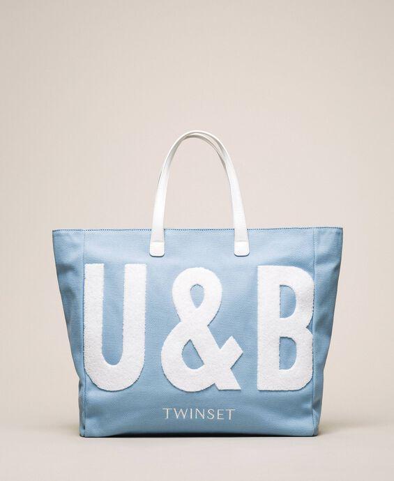 Пляжная сумка с логотипом