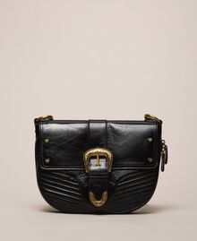 Large Rebel shoulder bag Black Woman 201TA723J-02