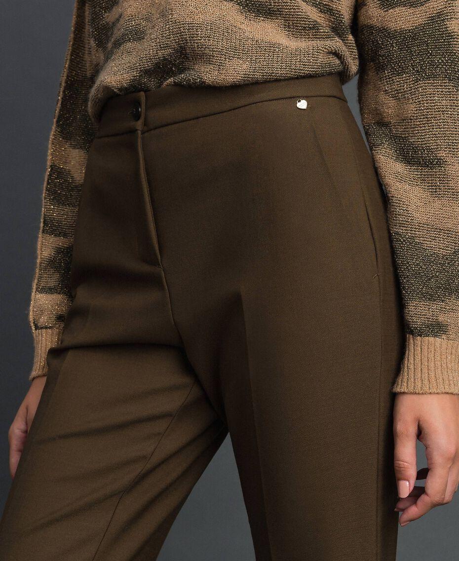 "Technical wool trousers ""Colonial"" Green Woman 192TT2450-04"