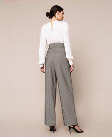 Glen plaid trousers Multicolour Glen Plaid Woman 201MP2062-03