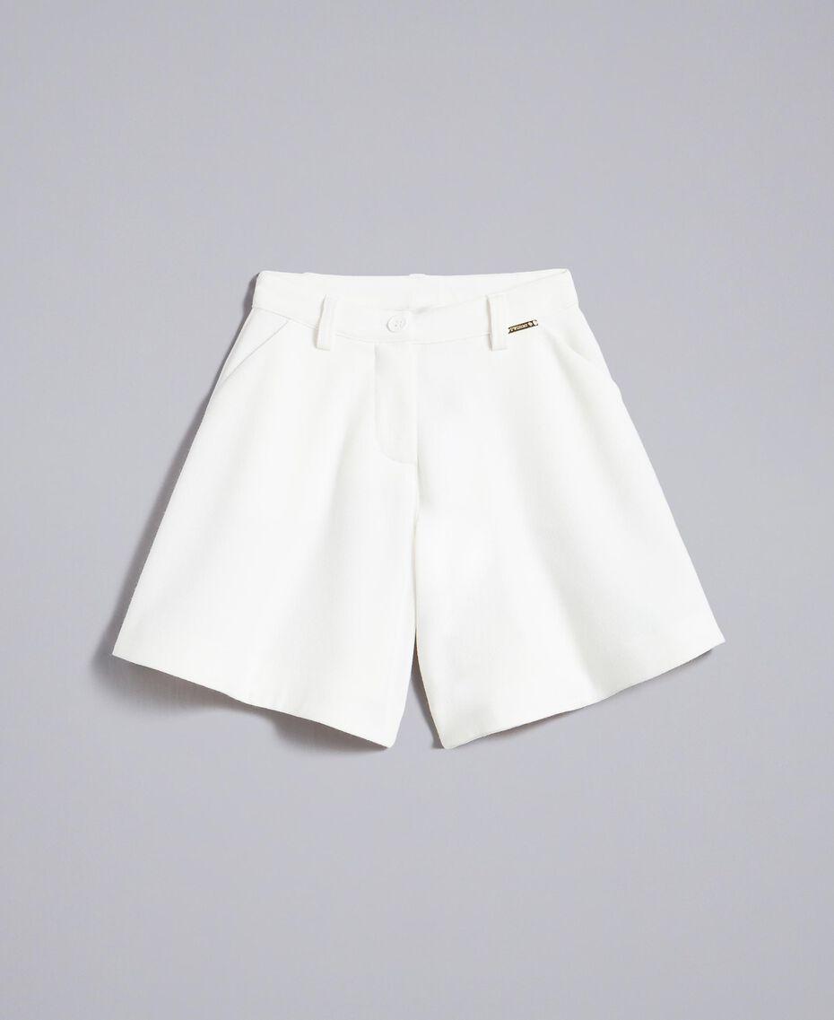 Jupe pantalon en crêpe Off White Enfant FA82DA-01