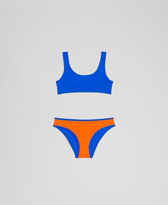 Maillot de bain bikini réversible