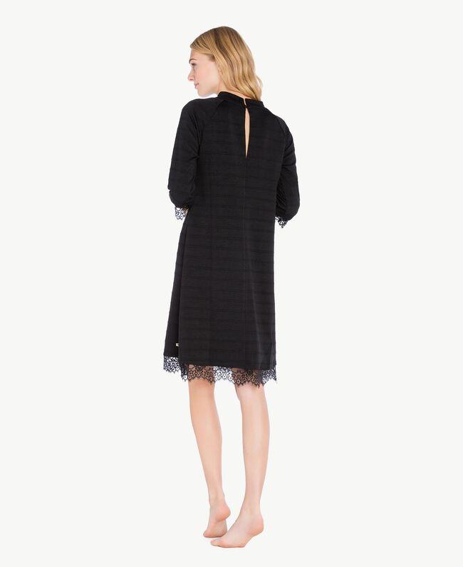 Lace dress Black IA7SAA-04