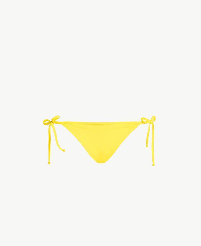 Bow Brazilian briefs Yellow Fizz Woman MS8B77-01