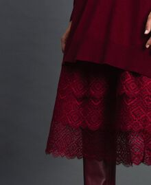 Knit dress with crêpe and lace slip Red Velvet Woman 192TT3084-05