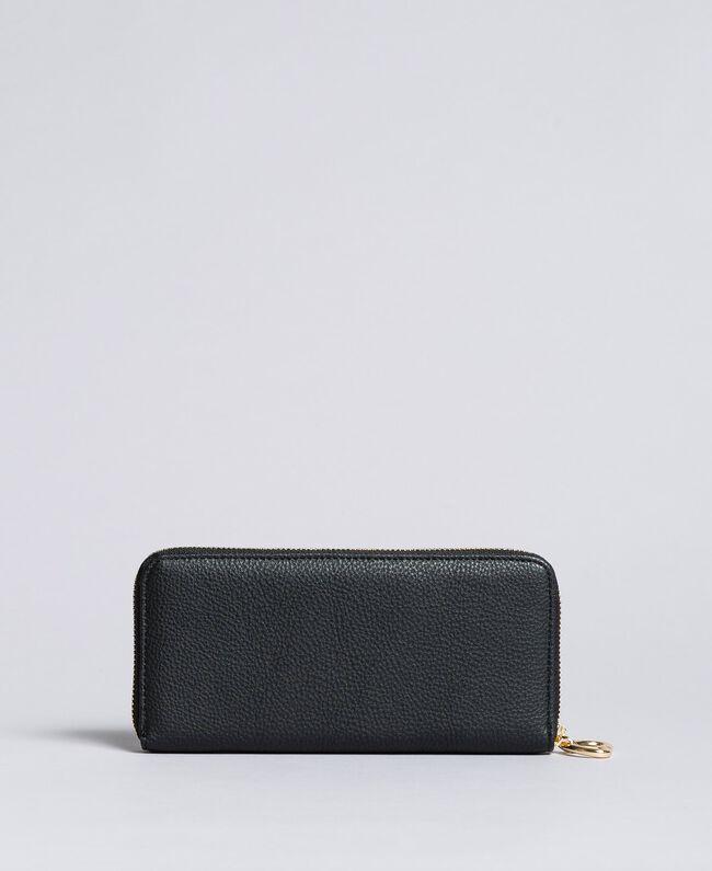 Portefeuille en similicuir Noir Femme VA8PA5-03