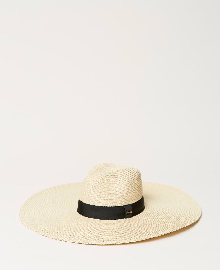 Cappello in paglia a tesa larga Paglia Donna 211TO5091-01