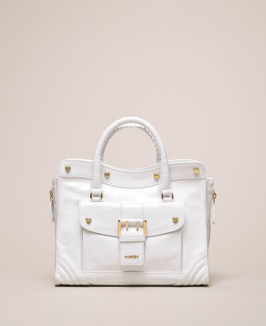 Кожаная сумка Rebel с карманом Серый Титан женщина 201TA723Z-02