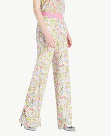 Printed palazzo pants Spring Print Woman PS82PE-02