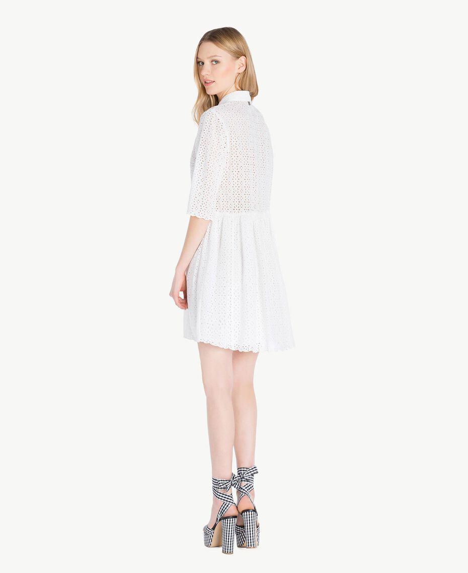 Robe broderie anglaise Off White Femme YS82CA-03
