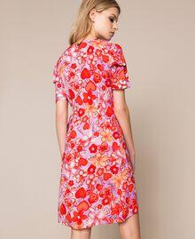 Floral print dress Reve / Rose Print Woman 201TQ2021-04
