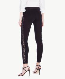 Lace leggings Black Woman PS828F-03