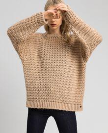 Maxi maglia in misto mohair Creme Caramel Donna 192MT3060-04