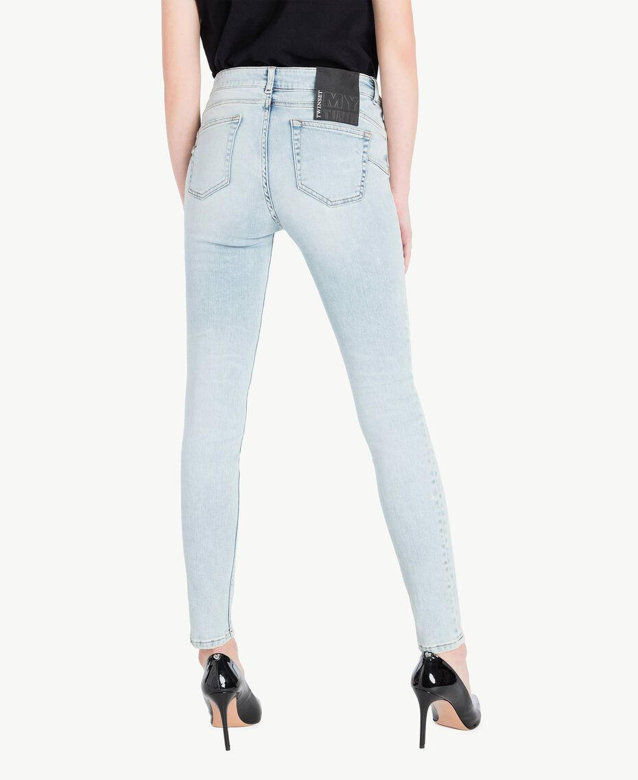 Skinny-Jeans Denimblau Frau JS82WG-03
