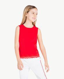 Débardeur jersey Rouge Grenade Enfant GS82BD-02