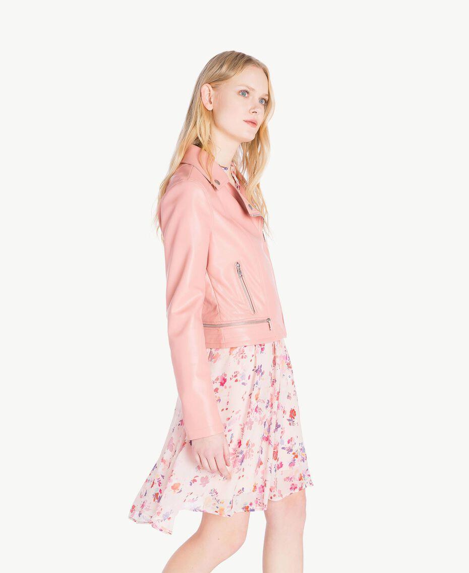 Perfecto similicuir Misty Pink Femme JS82CC-02