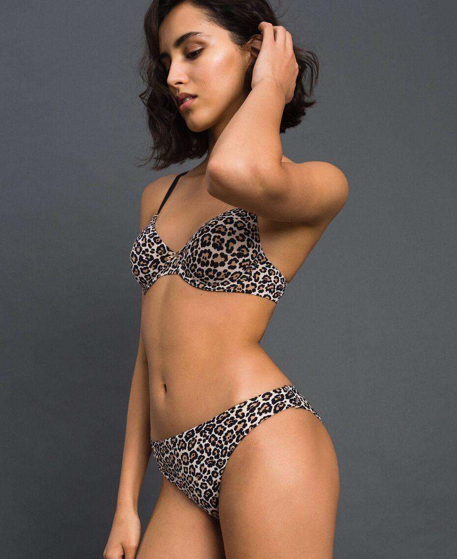 Underwire bra (B cup) Black Woman LCNN55-02