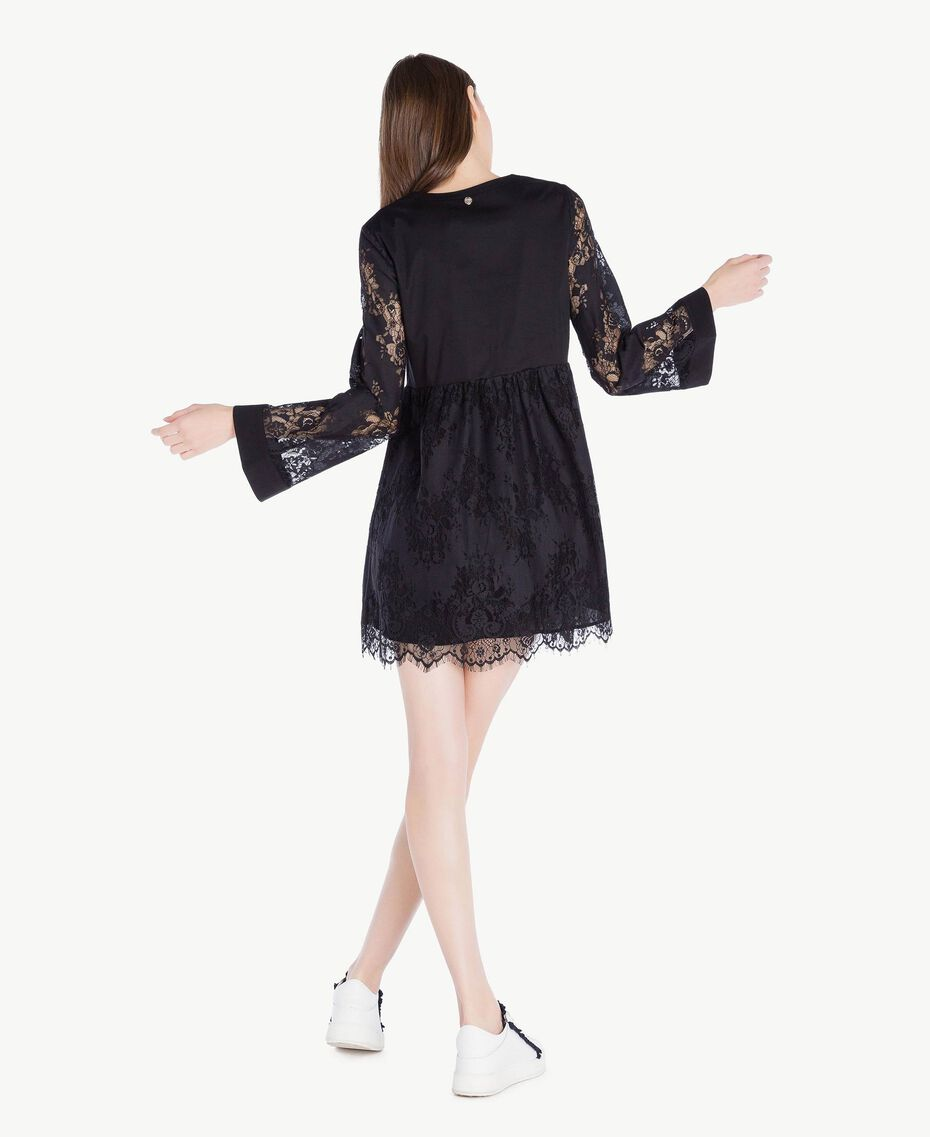 Lace dress Black Woman SS82J5-03