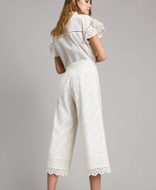Broderie anglaise trousers White Snow Woman 191TT2045-04