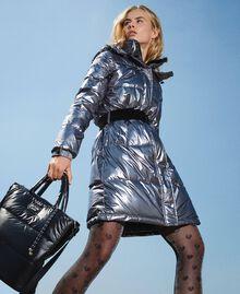 Стеганая сумка-шоппер с логотипом Черный женщина 202MO8021-0S