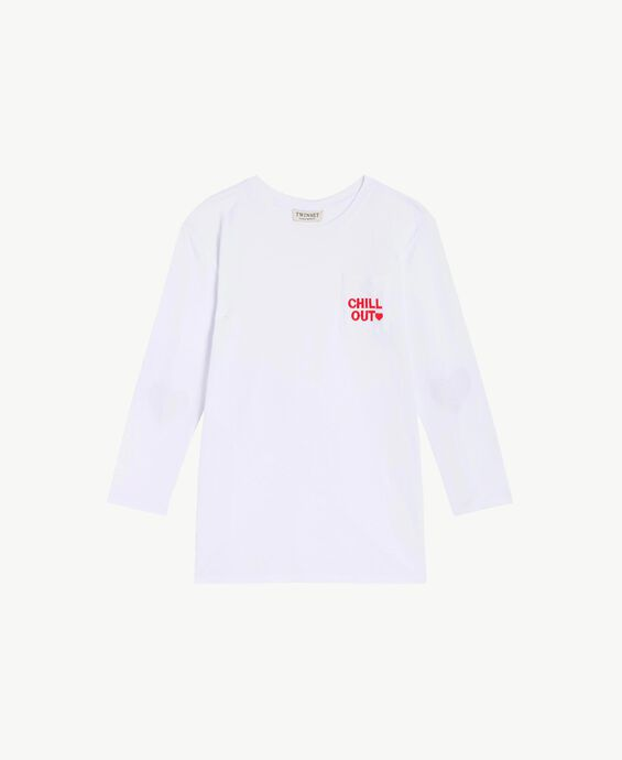 Maxi T-shirt with pocket