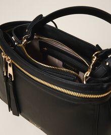 Large faux leather New Cécile bag Turtledove Woman 202TB7180-05