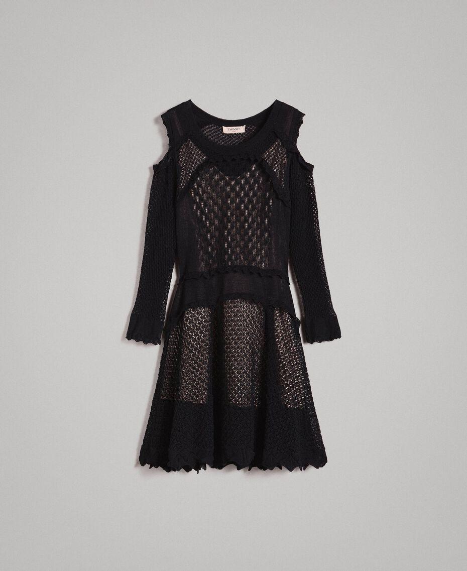 Robe en point de dentelle Noir Femme 191TP3070-0S