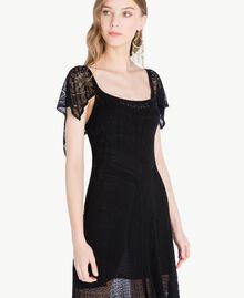 Robe viscose Noir Femme TS83AB-04