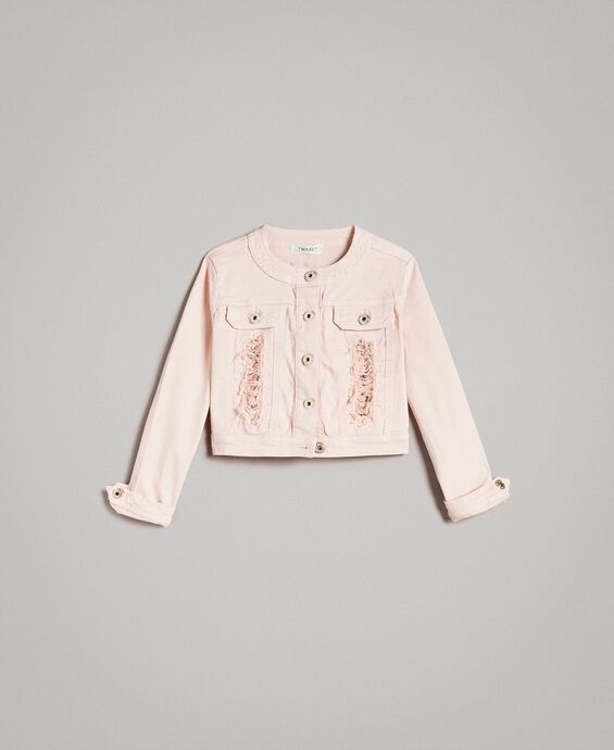 Bull stretch jacket with lace