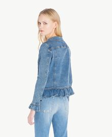 Denim jacket Denim Blue Woman JS82T1-03
