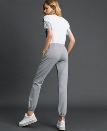 Jogging trousers Melange Grey Woman 192LI2UEE-03