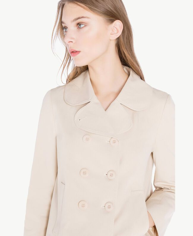 Trench toile Écru Femme PS824P-04