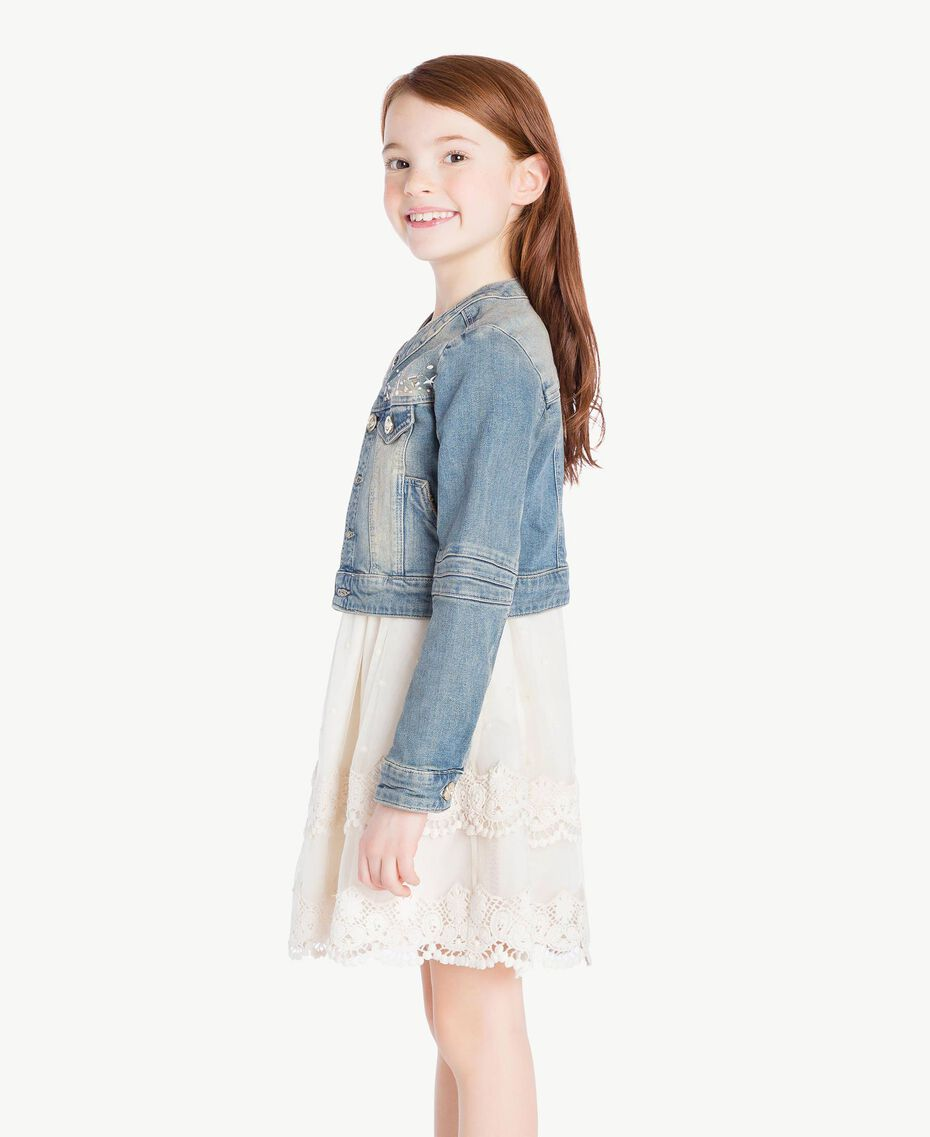 """Denim jacket """"Mid Denim"""" Blue Child GS82T1-03"""