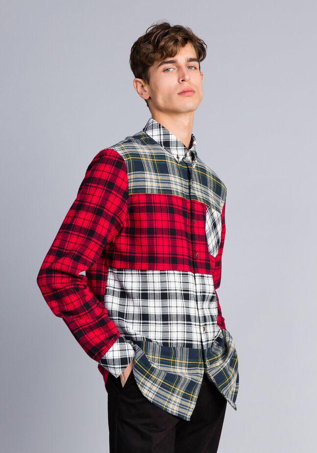 Camicia in flanella tartan