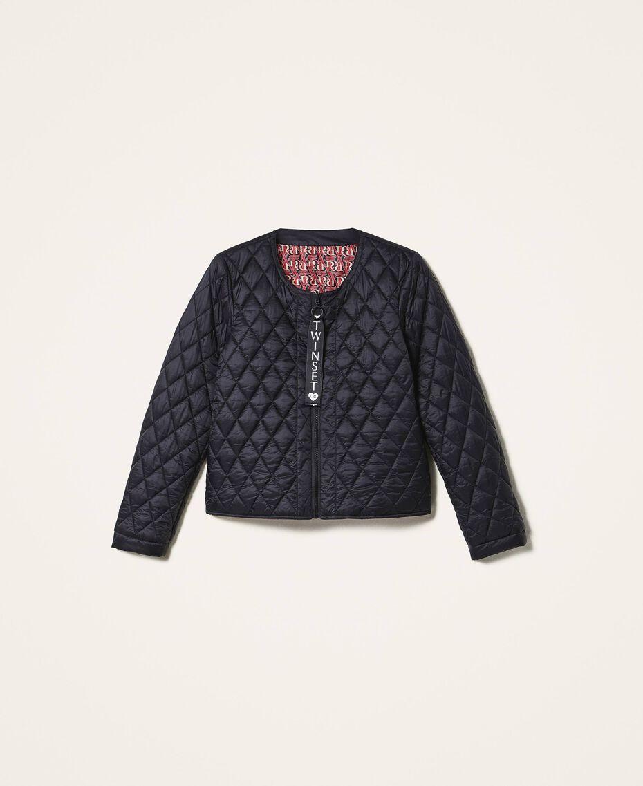 Ultra light quilted puffer jacket Black Woman 202LI2AHH-0S
