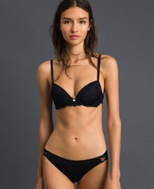 Push-up bra with lace Black Woman 192LL6C33-02