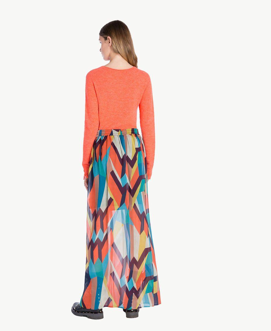 """Jupe longue imprimé Multicolore """"Imprimé Géométrique"""" Femelle PA7282-03"""