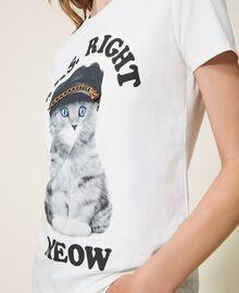 T-shirt imprimé Off White Femme 202MT2306-04