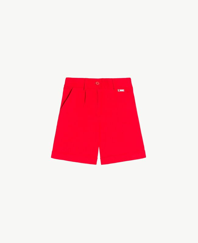 Cotton shorts Pomegranate Red Child GS82HN-01