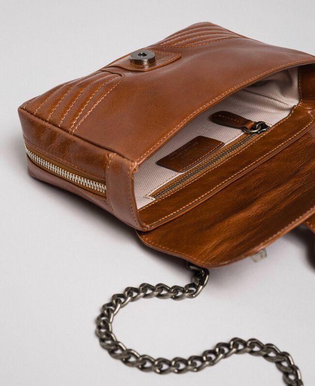 Petit sac à bandoulière Rebel en cuir Cuir Femme 192TO823F-05