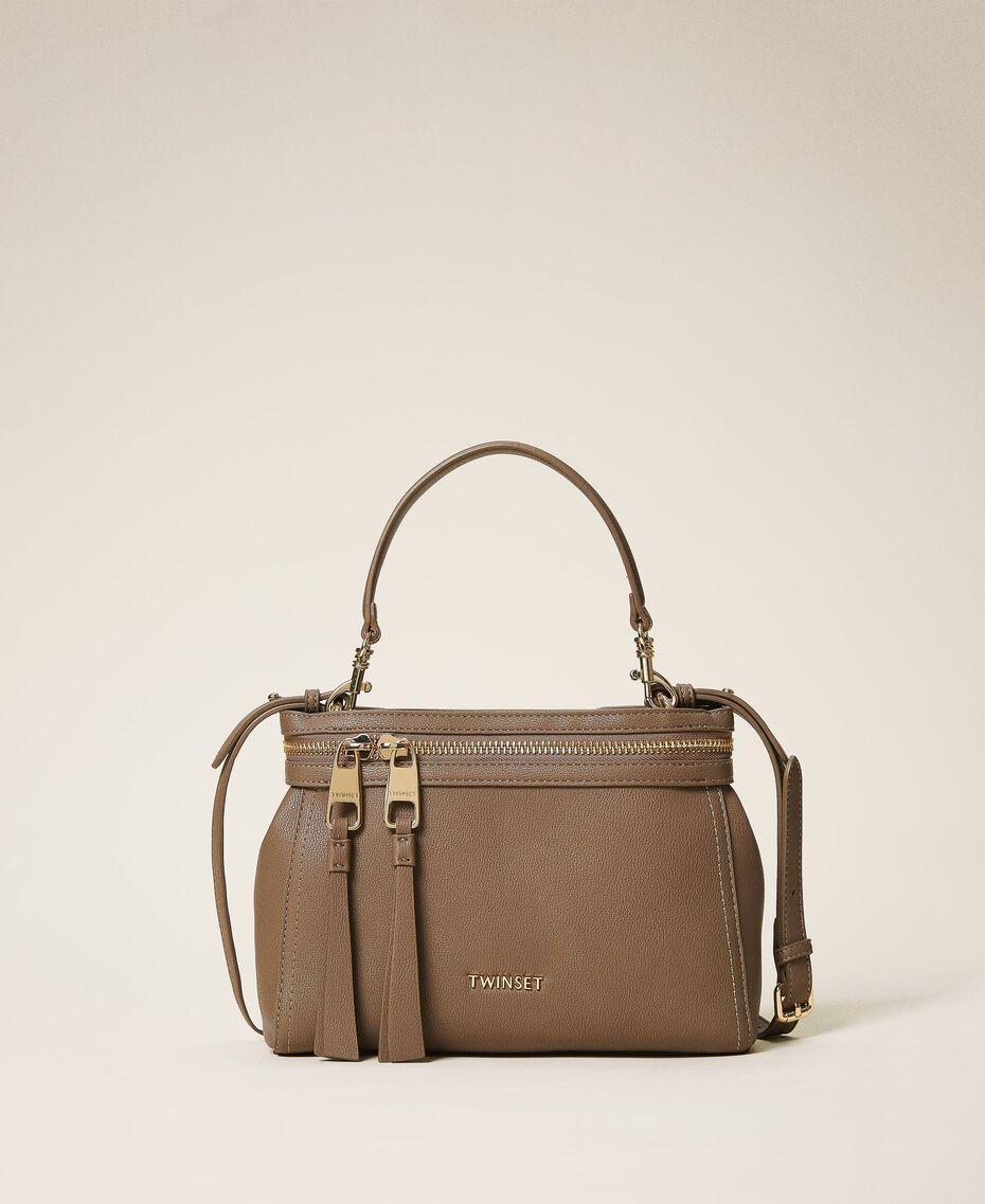 Маленькая сумка New Cécile из искусственной кожи Golden Yellow женщина 202TB7181-01