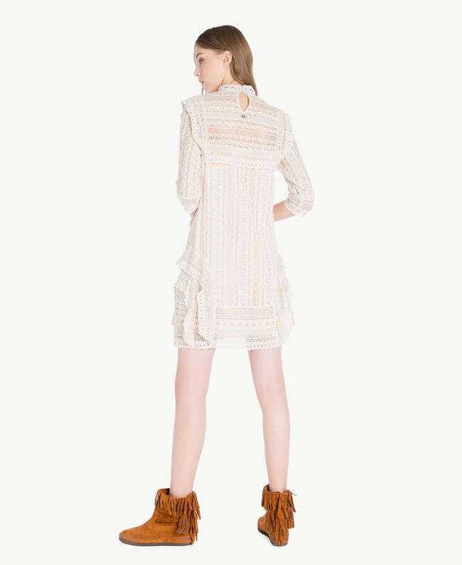 TWINSET Stivale frange Cuoio Donna CS8TAW-06