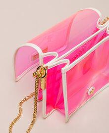 Bea Bag en PVC avec chaîne à bandoulière Fuchsia Fluo Femme 201TO8200-05