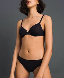 underwired bra (B cup) Black Woman LCNN55-02
